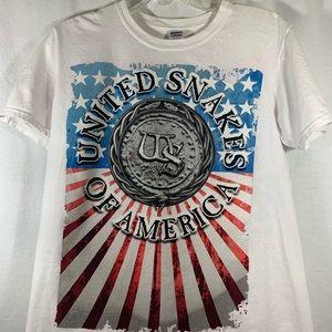 White Whitesnake 2015 World Tour T-Shirt